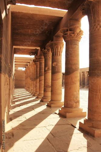 Staande foto Athene Philae Temple, Lake Nasser, Egypt