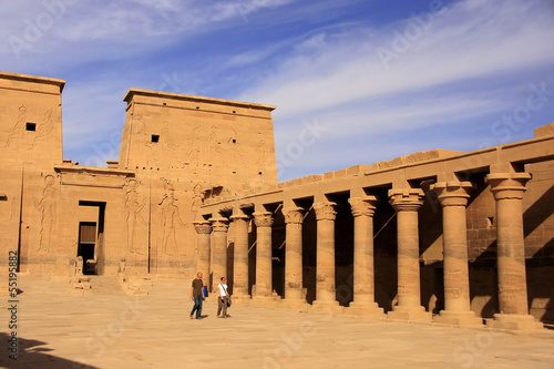 Philae Temple, Lake Nasser, Egypt