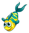 An aquatic fish
