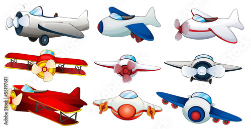 Different plane designs
