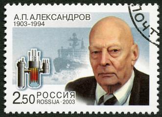 RUSSIA - 2003: A.P.Alexandrov (1903-1994), a scientist