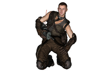Steampunk Soldat