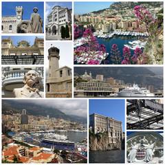 Monaco,Monte Carlo collage