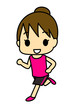 ジョギング 女性