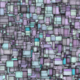 mosaic tile fragmented backdrop in blue purple