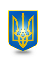 Coat of Arms of Ukraine (stylized) II.