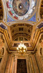 Saint Isaac Cathedral ceiling, St. Petersburg, Russia