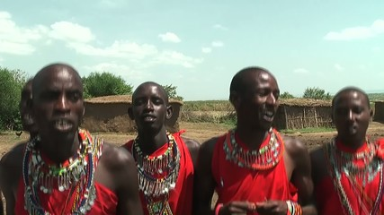Masai Warrior prepare fire