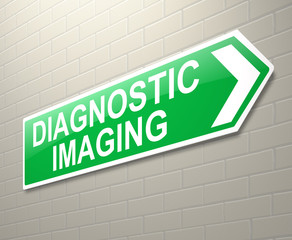 Diagnostic Imaging sign.