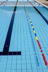 corsia di una piscina olimpionica