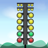 Big traffic light