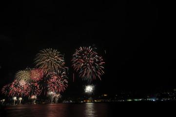 Yılbaşı kutlama Havai fişek