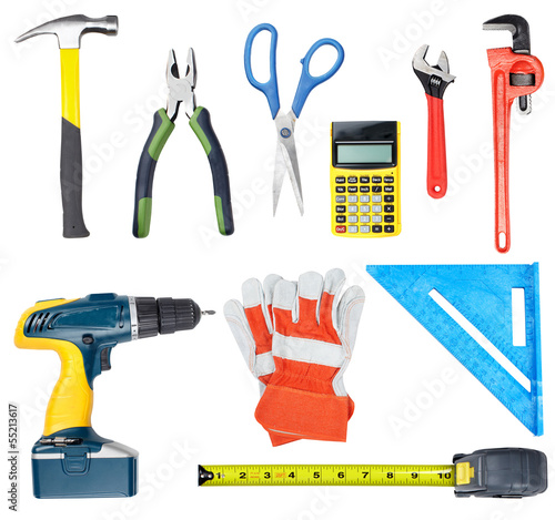 Construction tools.