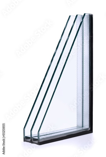 Triple windows insulated glazing