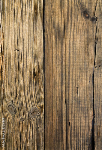 The broken old wooden board background