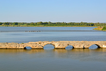 Stagno di Calich - Ponte romano di Fertilia (SS)