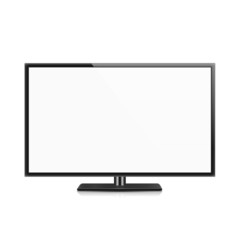 TV, white screen