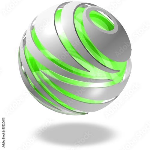 Design - Kugel, Ökologie, grüne Energie