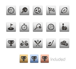Sports Icons_Vector includes 4 color versions= Layers