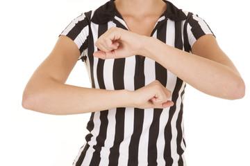 referee body travelling