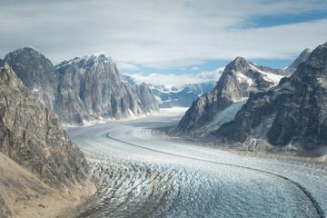 Glacier in Denali (Mt. McKinley)