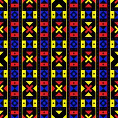 Geometric African Pattern