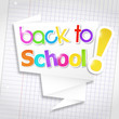 bulle origami : back to school