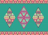 Unusual geometric seamless pattern.