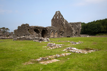 Glenluce Abbey, Dumfries and Galloway, Scotland