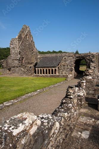 Glenluce Abbey, Dumfries and Galloway, Scotland