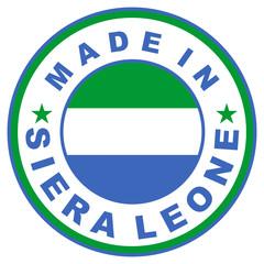 made in siera leone