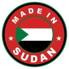 made in sudan