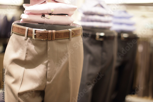 Stock image of slacks