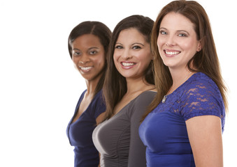 group of casual women