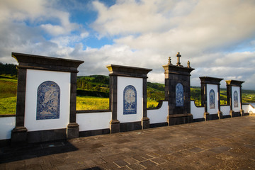 Place of pilgrimage on Sao Miguel, Azores