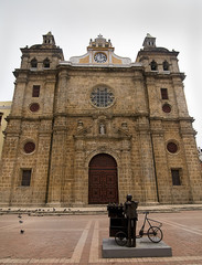 San Pedro Claver Cathedral at Cartagena de Indias, Colombia