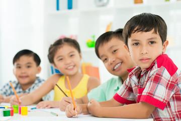 Diligent classmates