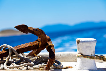 the anchor and the pillar