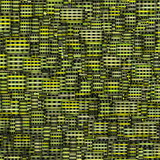 mosaic tile fragmented backdrop in green yellow