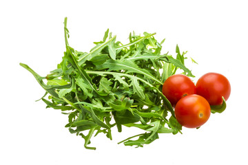 Ruccola with tomato cherry