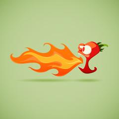 Very Hot Chilli Pepper