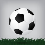 best soccer football illusion isolated background