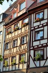Fachwerkhaus in Nürnberg