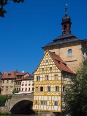 Altes Rathaus in Bamberg/Deutschland