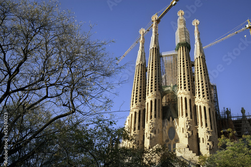 Sagrada Familia towers, Passion façade