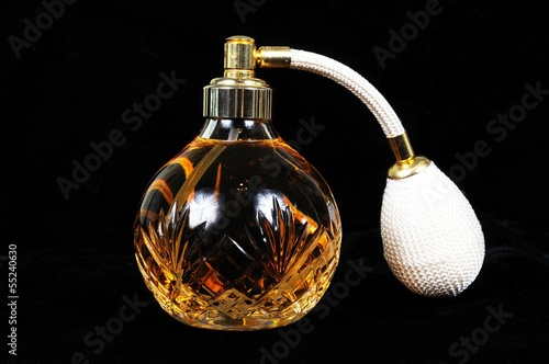 Glass crystal perfume bottle © Arena Photo UK