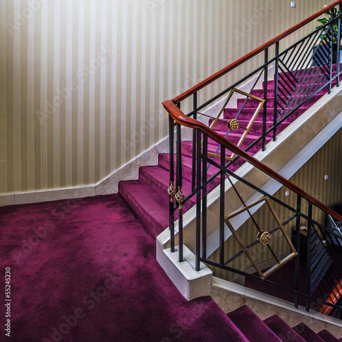 stair in hotel