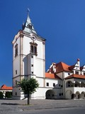 Tower of old town hall in Levoca