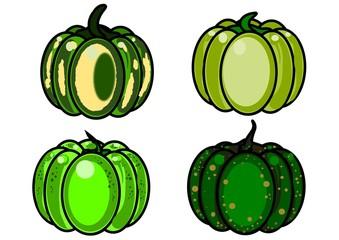 quattro zucche