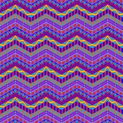 Crazy Stripes Pattern